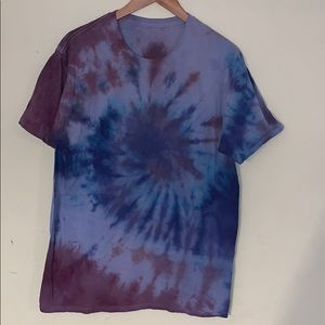 Dope Lot of 5 Marble and Tie Dyed Tees